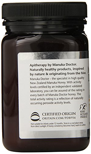 最珍贵的蜂蜜之一,Manuka Doctor麦卢卡 UMF 15+ 天然蜂蜜 500g(抗菌消毒增抵抗力)图片