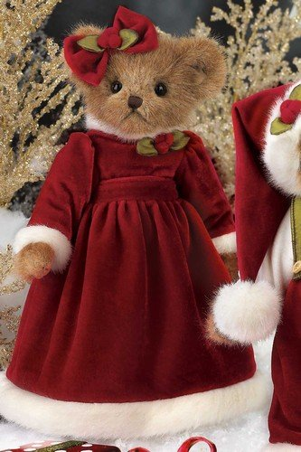 51ic K7L9BL Cheap Buy  Bearington Bears Girl Plush Santa Christmas HOLLY B. JOLLY 14 #173156   NEW FALL 2011