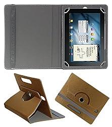Acm Designer Rotating 360° Leather Flip Case For Universal 10.1