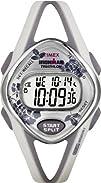 Timex Womens T5K377 Ironman Sleek 50-Lap Floral Resin Strap Watch