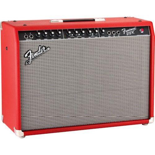 george j wick fender frontman 212r 100 watt 2x12 inch guitar combo amp red. Black Bedroom Furniture Sets. Home Design Ideas