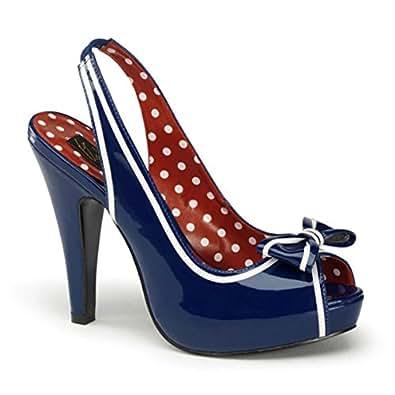 Slingback Sandalette blau Größe: 35