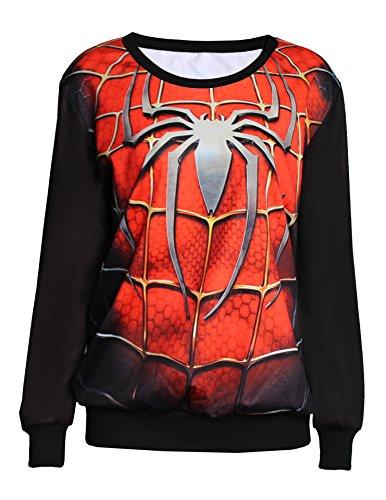 3d Sweatshirt Spider-man