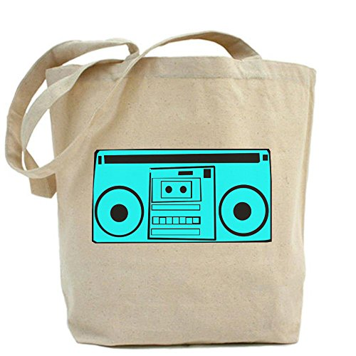 LVSURE retro cartoon boombox Tote