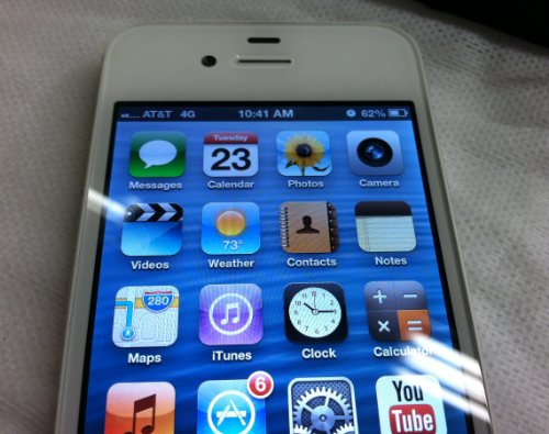 Apple iPhone 4S 16GB (White) - AT&T