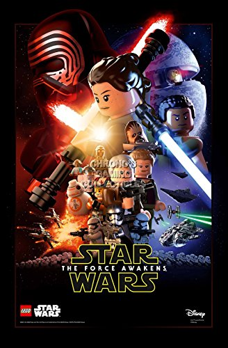 """CGC Huge Poster - Lego Star Wars Episode VII The Force Awakens Moive Poster - STWL07 (16"""" x 24"""" (41cm x 61cm))"""