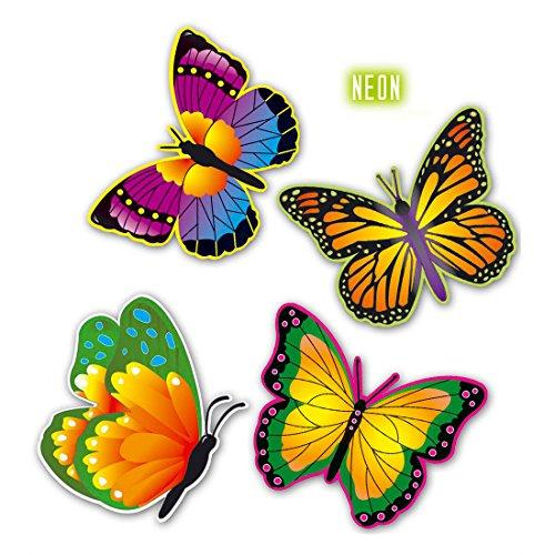 Neon Schmetterlinge Butterfly