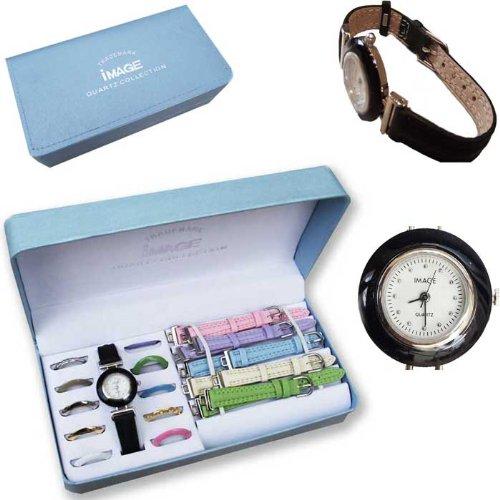 haute qualité magasin discount une autre chance DHEVA: Ⓓ Montre Femme - 5 Bracelets et 11 Cadrans ...