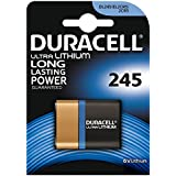 Duracell Ultra M3 Photo DL245 6 V Lithium Battery