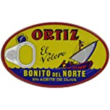 Ortiz Bonito Del Norte - White Tuna in Olive Oil, 3.95 Ounce Tin