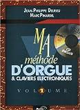 echange, troc Delrieu-Pinardel - Delrieu-Pinardel : ma méthode d'orgue vol 1 (+ 1cd)