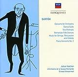 Bartok: Pno Cto. No 3/Cto for Orch/Dance Ste