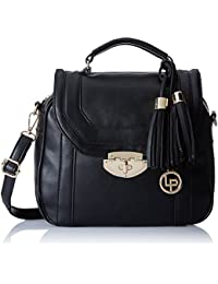 Lino Perros Women's Handbag (Black) - B06X8Z6TZZ