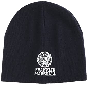 Franklin & Marshall - Casquette de Baseball Mixte - CPUA9008W13 - Bleu (DIAMOND BLUE) - FR : Taille unique (Taille fabricant : one size)
