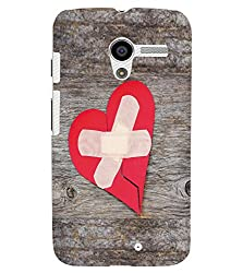 FUSON 3D Designer Back Case Cover for MOTOX D9969