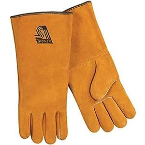 Steiner 02120-L  Premium Weld Gloves, Side Split Cowhide, Large