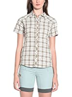 Salewa Camisa Mujer Shira Dry W (Beige / Marrón)