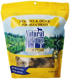 Natural Balance Dog Treat, Limited Ingredient Duck and Potato Recipe, 28 Ounce Bag
