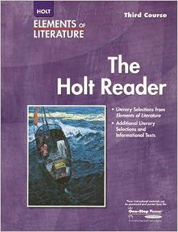 elements of literature third course online textbook