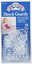 Baby King 12-Pack Shock Guards - colors as shown one size