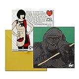Rose Hill Gorilla Portrait Greeting Card