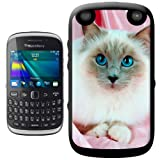 Birman cat Hard Case Clip On Back Cover For Blackberry 9320 Curve
