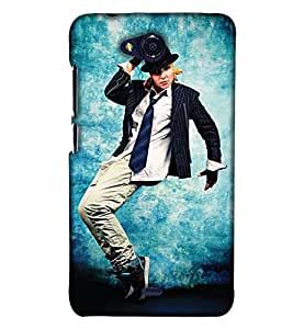 Print Haat Back Cover for Micromax Canvas Play Q355 (Multi-Color)