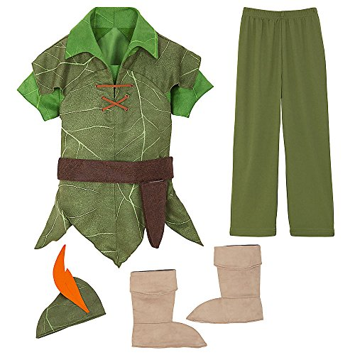 Disney Peter Pan Costume Kids 4 (Disney Store Peter Pan Costume compare prices)