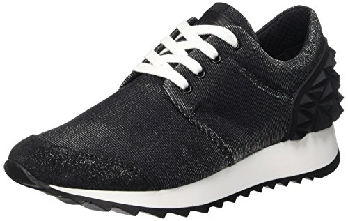 Cult Cream, Scarpe Low-Top Donna, Nero (Black/Black), 37 EU