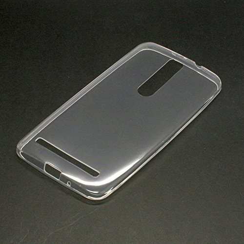 Smartist Rakuten ASUS Zenfone 2 TPU Case  楽天 モバイル SIM フリー MVNO ゼンフォン 2 対応 TPU デコ 素材 キラキラ ハード ソフト ケース プラスチックケース ハードケース スリム ハードカバー クリアケース クリスタルケース クリスタルカバー  Clear クリア 透明 CASEASZEN2-TPUCase01-CL