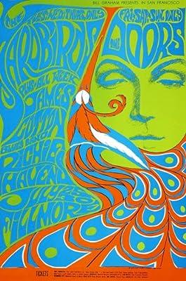 The Yardbirds - The Doors - 1967 - Concert Poster