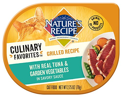 Nature's Recipe Culinary Favorites Grilled Recipe With Real Tuna & Garden Vegetables In Savory Sauce