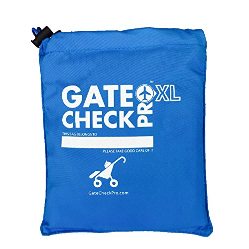 Gate Check Pro Xl Double Stroller Travel Bag For Jogging