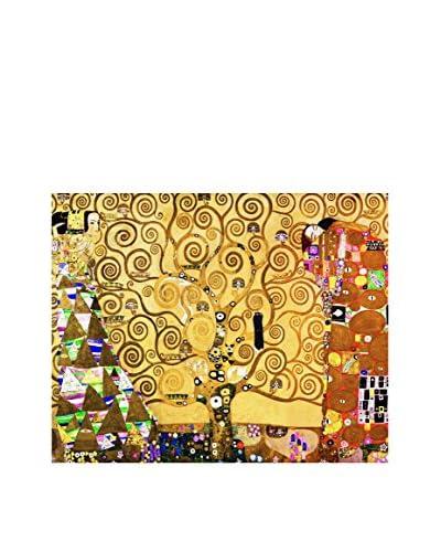 LegendArte Panel Decorativo Sobre Lona L'Albero Della Vita di Gustav Klimt