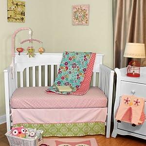 Amazon Com Lolli Living Scarlet 4 Piece Crib Set Home