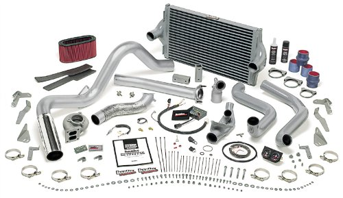 Banks Power 46356 PowerPack System; Performance System; Incl. OttoMind Eng Cal Mod/Air Filter/Quick TurboHousing/Techni-coolerIntercooler/Tailpipe/Plshd S/S Tip/DynaFactGauges/Transcommand;