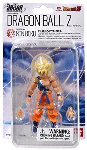 "Dragonball Z Shodo Bandai 3"" Figure - Super Saiyan Son Goku"