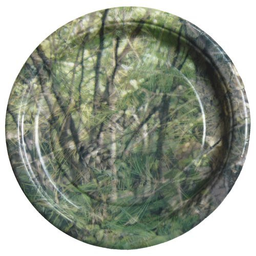 Camouflage Camo Party Supplies Dessert Plates 12 Count - 1