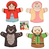 Manhattan Toy Company Little Red Riding Hood Box Finger Puppet Set