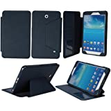 "Tab 4 7.0 Case - Bear Motion Premium Folio Case for 7 inch Samsung Galaxy Tab 4 7.0 - 7"" tablet (Tab 4 7.0, Blue)"