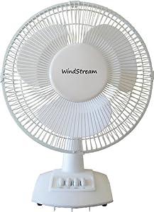 Windstream 12 inch desk fan floor fan for 12 inch floor fans