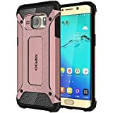 Galaxy S6 Edge+ Case Cubix Rugged Armor Case For Samsung Galaxy S6 Edge+ (Rose Gold)