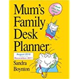 Mum's Family Desk Planner 2011by Sandra Boynton