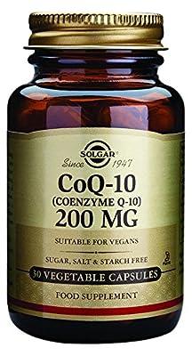 Solgar 200 mg Coenzyme Q-10 Vegetable Capsules - Pack of 30 by Solgar