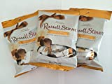 Russell Stover Caramel in Fine Milk Chocolate: 3 Bags of 2.95 Oz Each