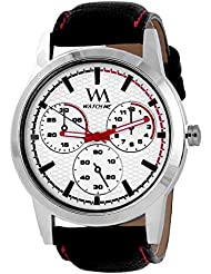 Watch Me Set Of Swiss Branded Black Brown White Red Multicolor Dial Leather Analogue Analog Watches For Men,Boys... - B01L01PN2W