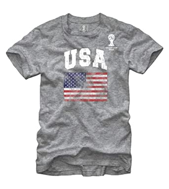 Buy FIFA 2014 World Cup Soccer - USA Flag - T-Shirt by Fifth Sun