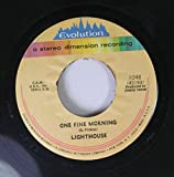 LIGHTHOUSE 45 RPM ONE FINE MORNING / LITTLE KIND WORDS