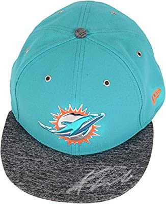 Kenyan Drake Miami Dolphins Autographed New Era 2016 Draft Day Cap - Fanatics Authentic Certified - Autographed NFL Hats