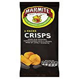 Marmite Crisps 6 Pack 150g